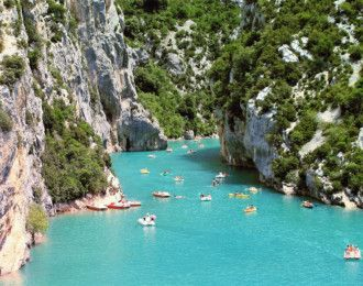 Gorges de l'Ardèche en canoë ou kayak